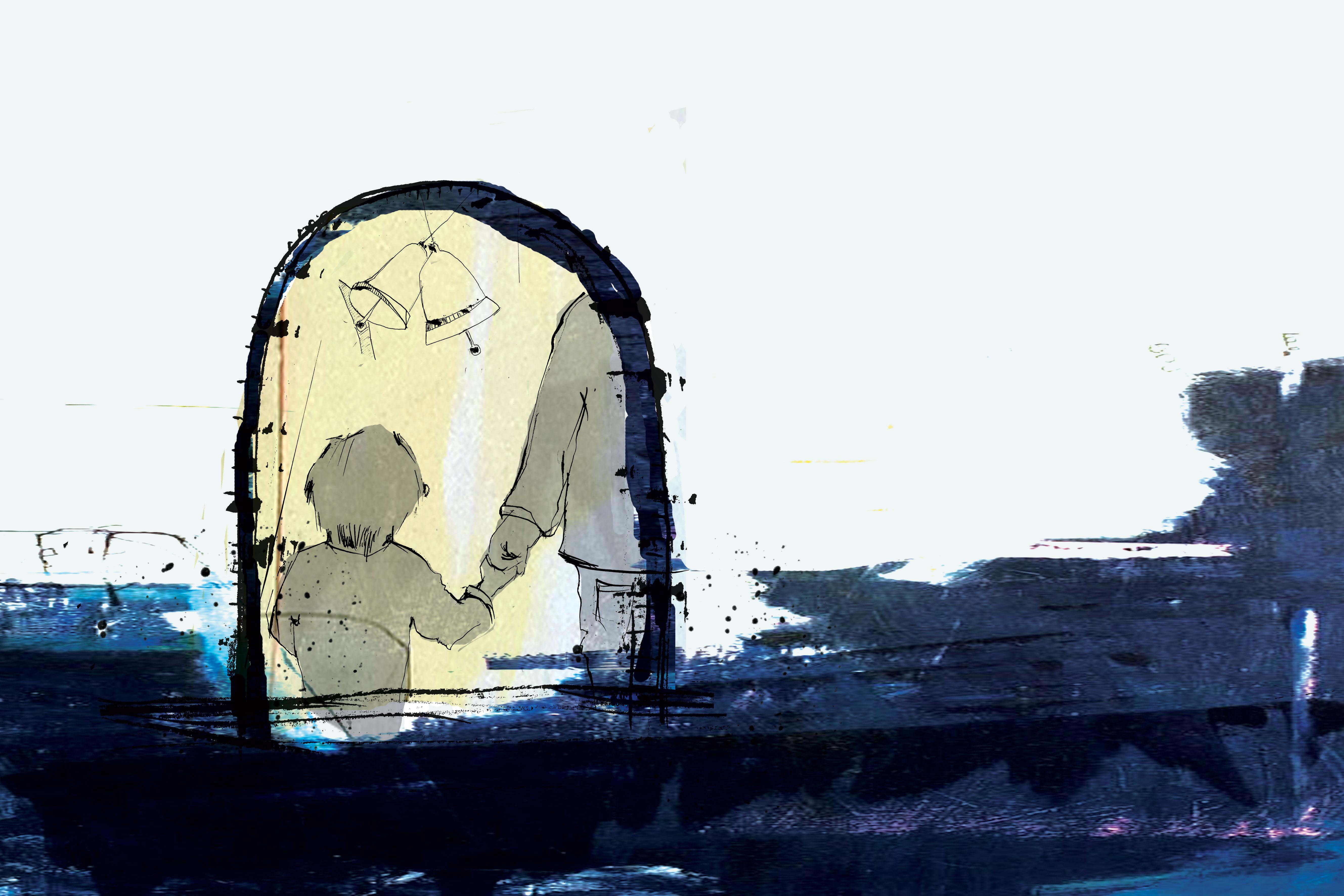 Hånden - en fortælling af Jens Peter Madsen med tegning af Tanja Eijgendaal