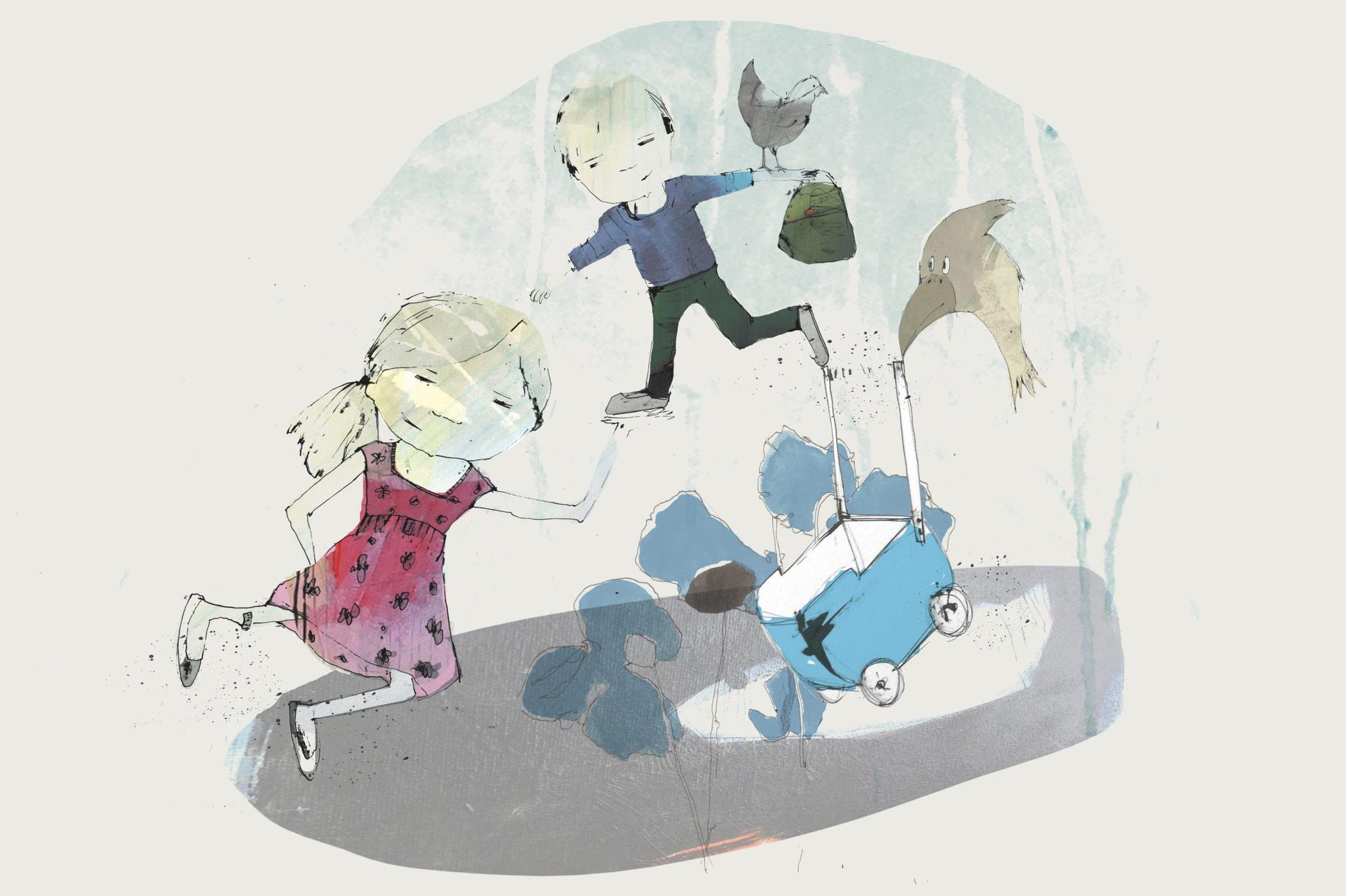 Ellen og jeg. Fortalt af Jens Peter Madsen, med tegning af Tanja Eijgendaal