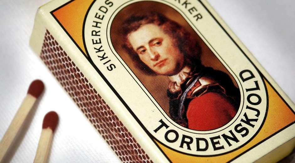 Hvordan Tordenskjold havnede på tændstiksæskerne