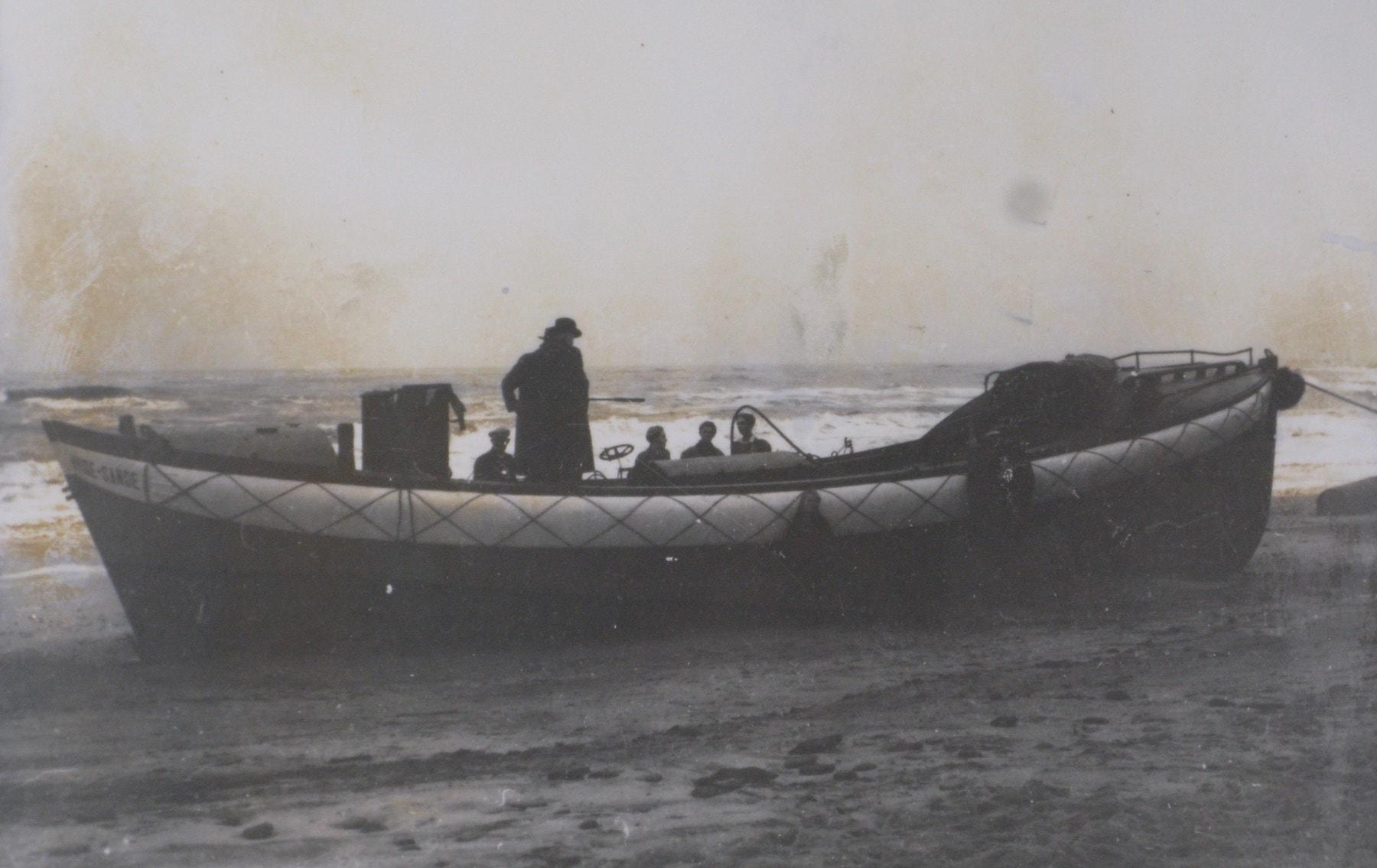 Forliset 9. december 1951. Motorredningsbåd MB 21
