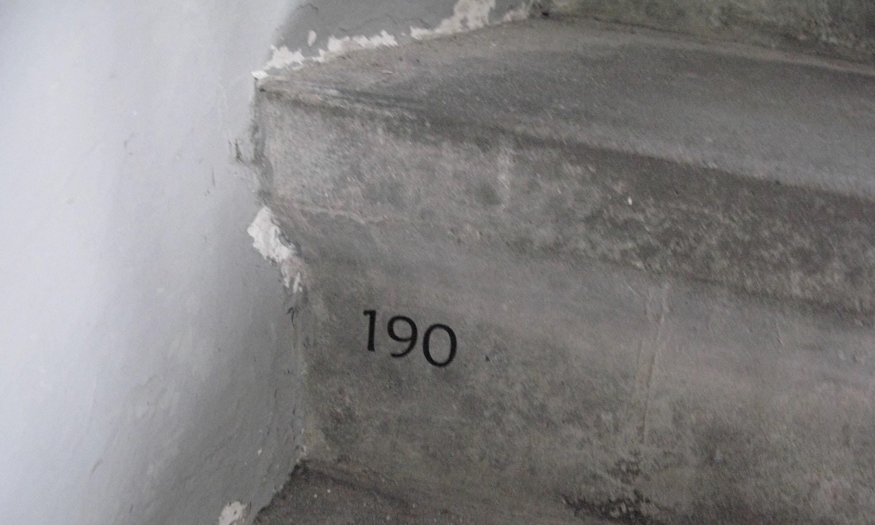Hvert tiende trappetrin i Lyngvig Fyr er nummereret