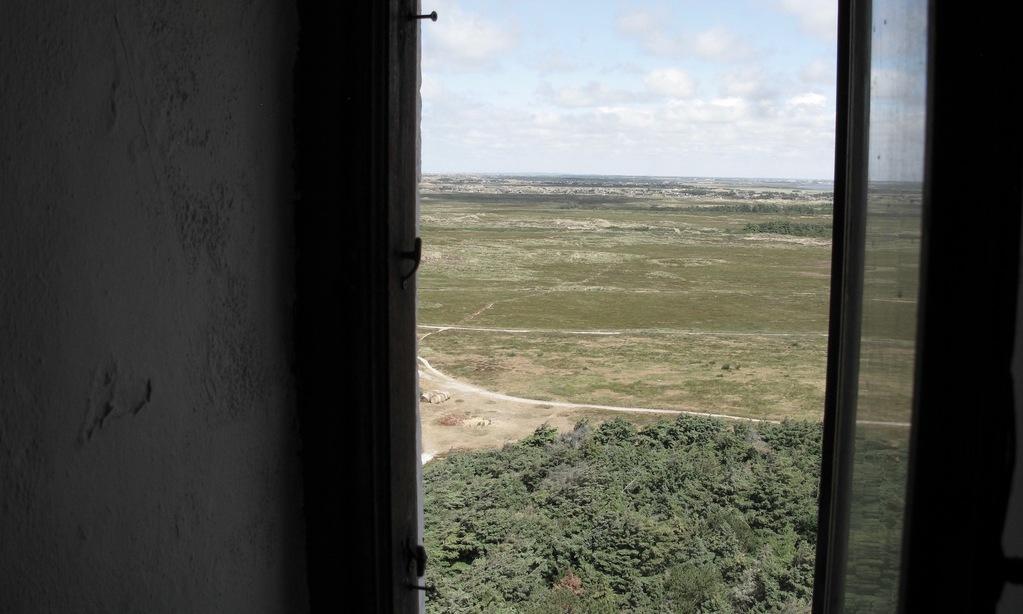Fra Lyngvig Fyr har man overblik over 300 hektar fredet klithede