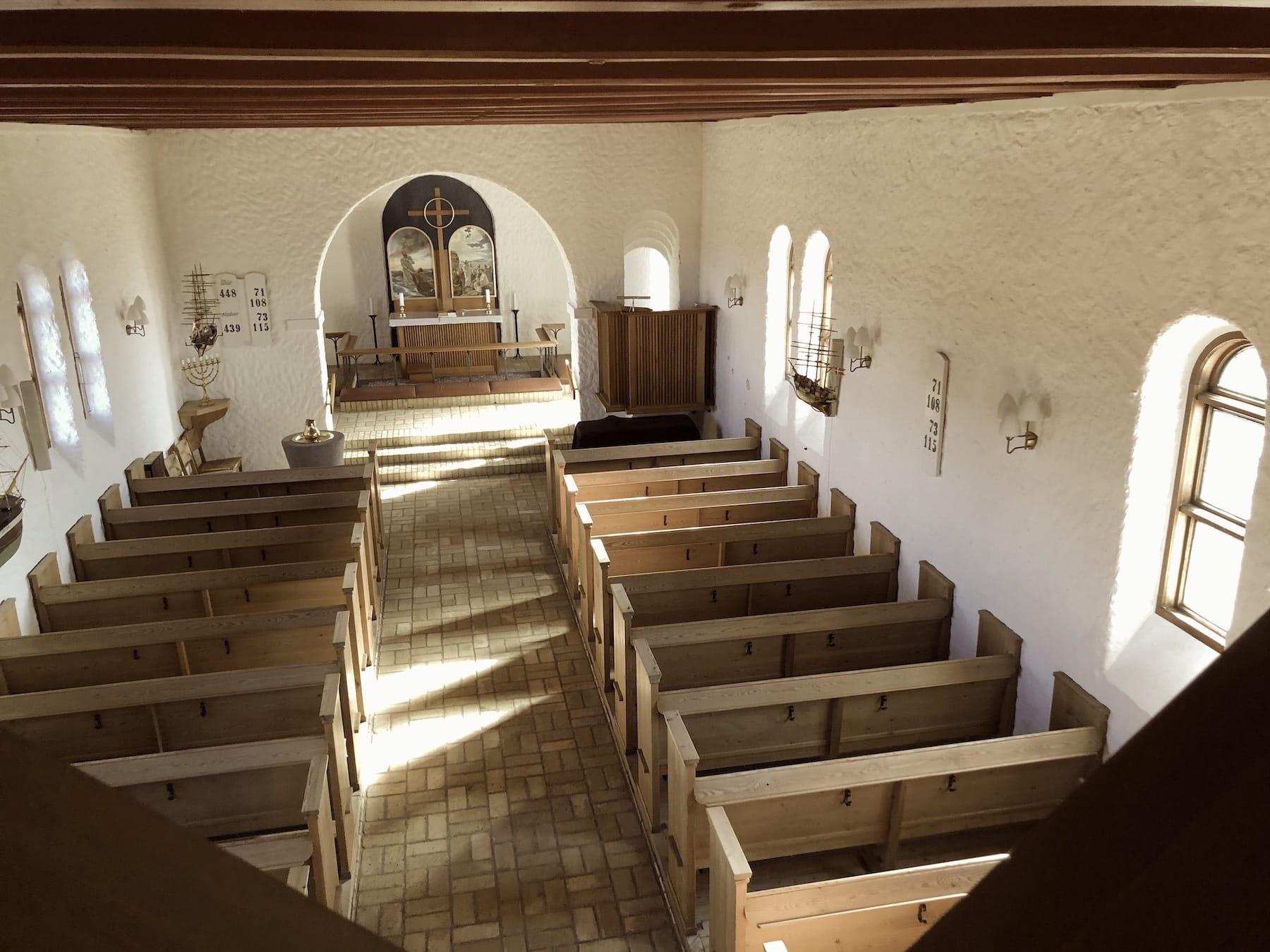 Nørre Lyngvig Kirke – den oprindelige del fra 1869