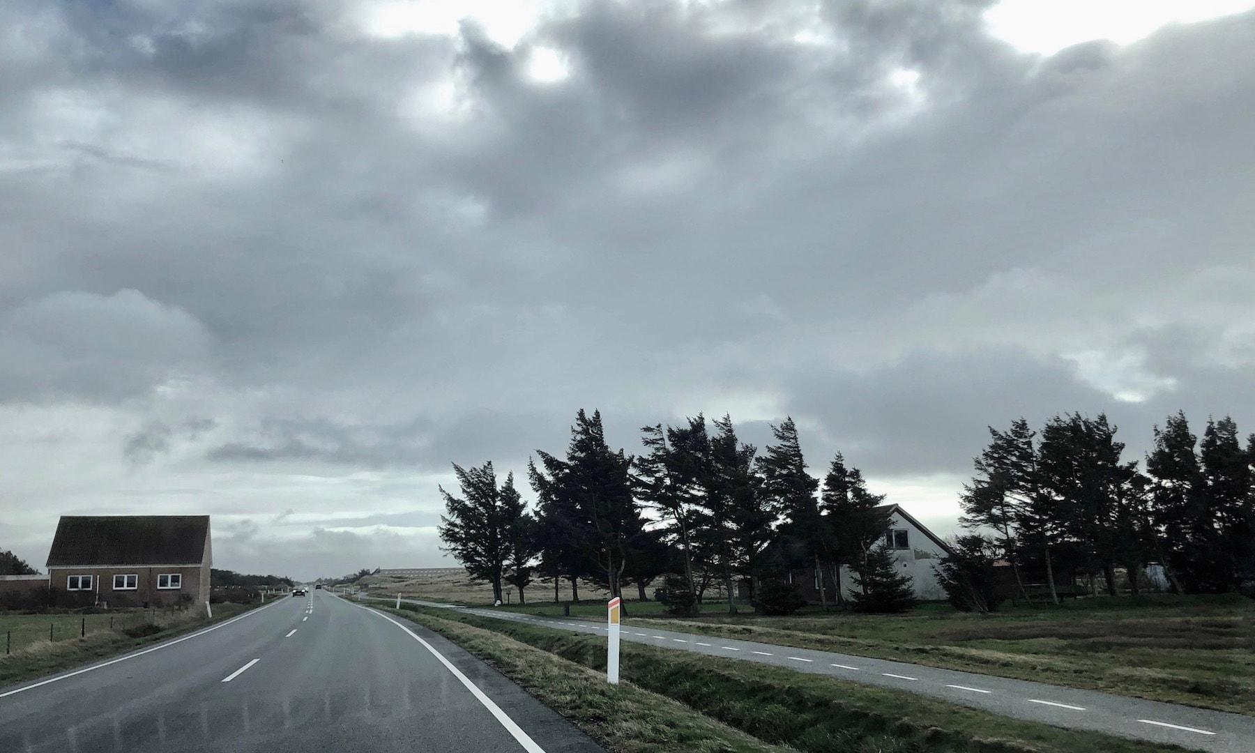 Indfaldsvejen til Nørre Lyngvig og Hvide Sande